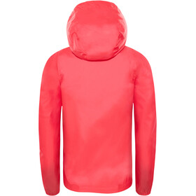 The North Face Zipline Veste imperméable Fille, atomic pink